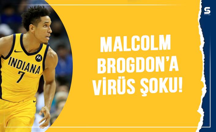 Malcolm Brogdon'un, koronavirüse yakalandığı duyuruldu.